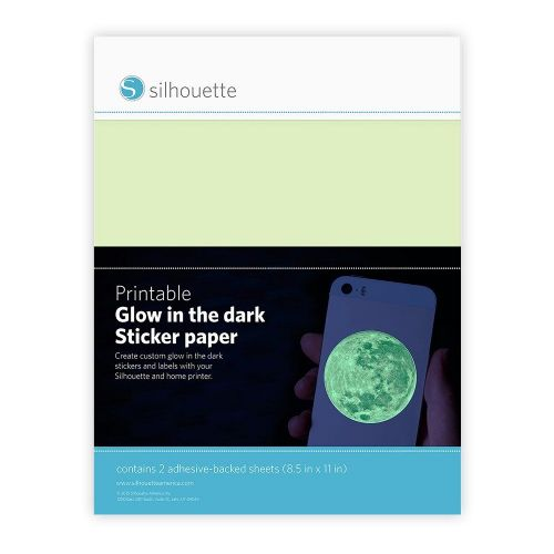Printable Glow-in-the Dark Sticker Paper